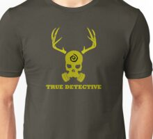 True Detective - Gas Mask - Yellow Unisex T-Shirt
