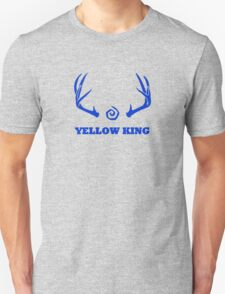 True Detective - Yellow King Antlers - Blue T-Shirt