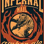 Infernal Nail Amber Ale | FFXIV by srahhh