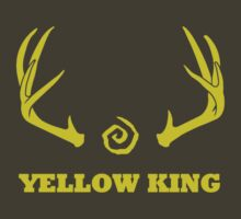 True Detective - Yellow King Antlers - Yellow by Prophecyrob