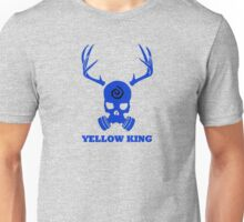 True Detective - Yellow King Gas Mask - Blue Unisex T-Shirt