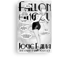Faith Fallon Graphic Novel Page © Steven Pennella Metal Print