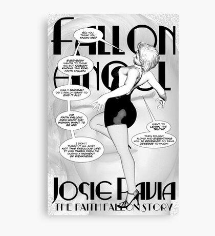 Faith Fallon Graphic Novel Page © Steven Pennella Canvas Print