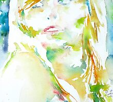ELENA - watercolor portrait by lautir