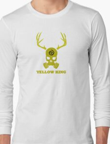 True Detective - Yellow King Gas Mask - Yellow Long Sleeve T-Shirt