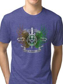 Zeppies Bar Butte Montana  Tri-blend T-Shirt