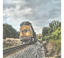 Running the Rails Photographic Print