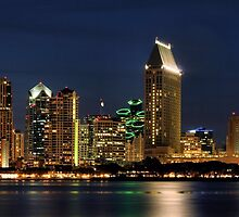 SanDiego Night  by djphoto
