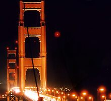 Golden Gate Night by djphoto