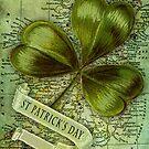 Shamrock for Ireland by Sarah Vernon