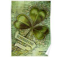 Shamrock for Ireland Poster