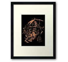 Reaper Out West Framed Print