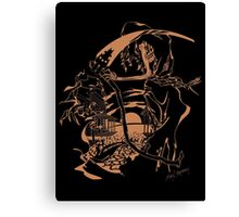Reaper Out West Canvas Print