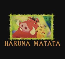 Hakuna Matata with Simba, Timon, and Pumba! by rockinbass85