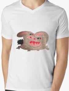 The Mad Rabbit Mens V-Neck T-Shirt