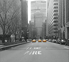 New York Taxis by jojolewis