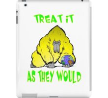 Earth Day Treatment iPad Case/Skin