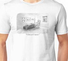 Bipolar battery and psychologist Unisex T-Shirt