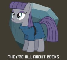 They're all about rocks - Maud by PinkiexDash