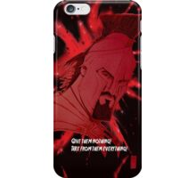 King Leonidas 300 iPhone Case/Skin