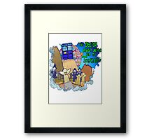 Doctor goes to Trenzalore Framed Print