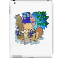 Doctor goes to Trenzalore iPad Case/Skin
