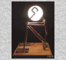Lamp Lady - Adjustable Life Sized Human Metal Sculpture - FredPereiraStudios.com One Piece - Long Sleeve