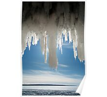 Ice Angel, Apostle Islands,WI Poster