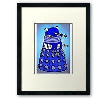 Dalek Tardis Framed Print