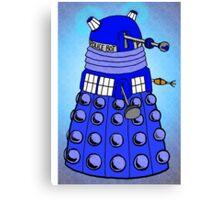 Dalek Tardis Canvas Print