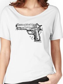 Graphic Pistol Women's Relaxed Fit T-Shirt