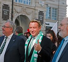Michael Flatley at the St Patrick's Day Parade in London by Keith Larby