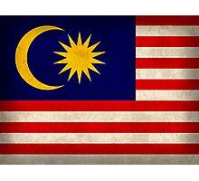 Malaysia Flag Photographic Print