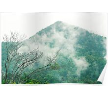 Outback mountain in Queensland Poster