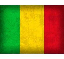 Mali Flag Photographic Print
