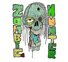 Zombie Hunter Logo Photographic Print