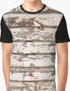 Grungy wooden background Graphic T-Shirt