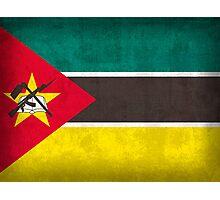 Mozambique Flag Photographic Print