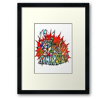 Gamer for Life Framed Print