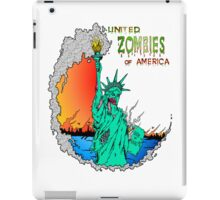 Zombies of America iPad Case/Skin