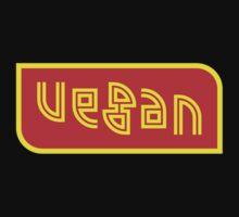 Vegan - an ambigram by black-ink
