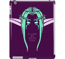 Elune Be With You iPad Case/Skin