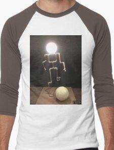 Lamp Boy - FredPereiraStudios_Page_3 Men's Baseball ¾ T-Shirt