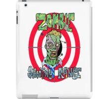 Zombie Shooting Range iPad Case/Skin