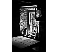 Irish Cottage Window Photographic Print