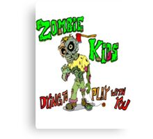 Zombie Kids Canvas Print
