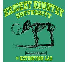 Kricket Kountry de-Extinction Lab:  Wooly Mammoth! Photographic Print