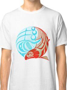 Circling Salmon Classic T-Shirt