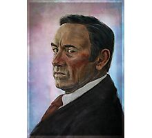 Frank Underwood - House of Cards Photographic Print