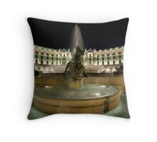 Piazza Della Repubblica by Night Throw Pillow